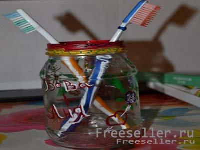 Подставок для зубных щеток своими руками фото 538