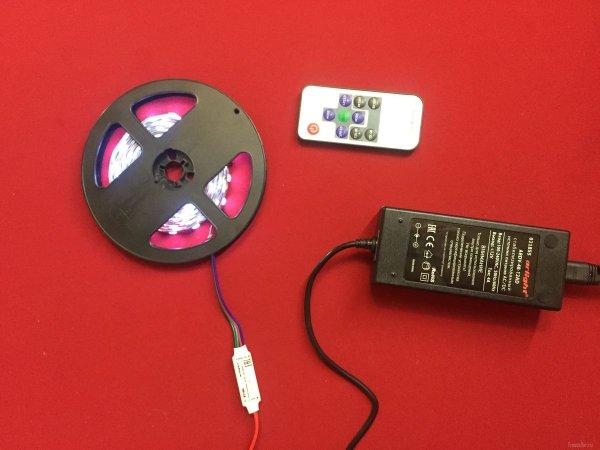 Светодиодная лента с контроллером