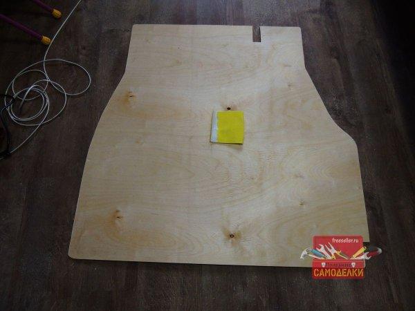 Изготовление пола подложки в багажник автомобиля